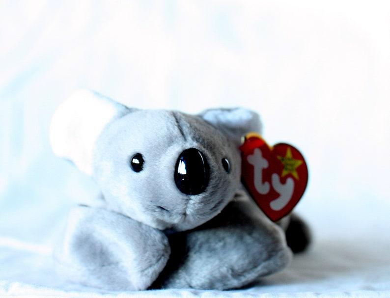 5b800bdc579 Mel Beanie Babies Beanie Baby Mel Koala Bear Rare Ty Beanie