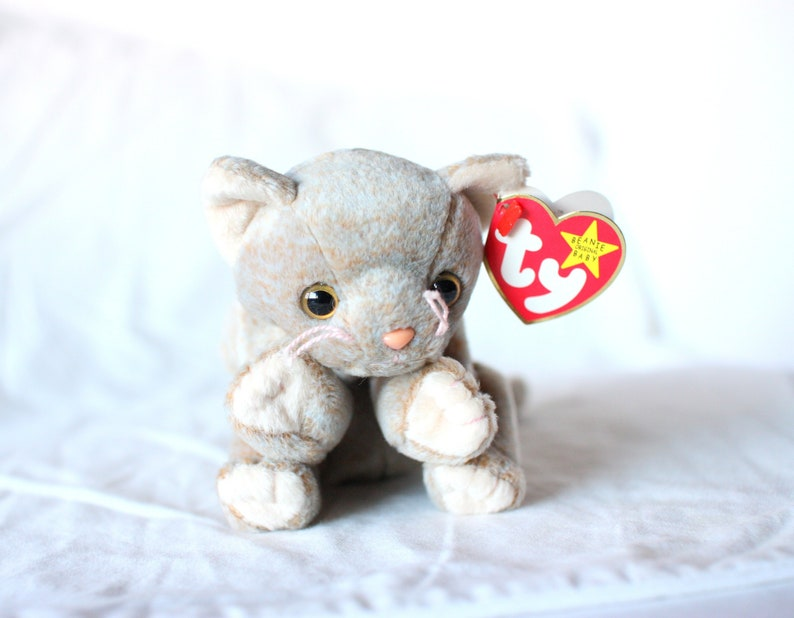 b008fbc60a2 Beanie Babies Scat the Cat Mint Condition Beanie Baby Cat