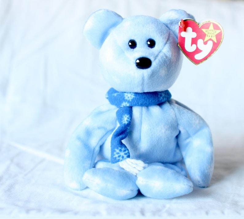 645129f35e2 1999 Holiday Teddy Christmas Beanie Baby Ty Christmas Bear