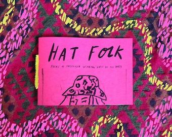 Hat Folk Zine // Rickwood Illustration