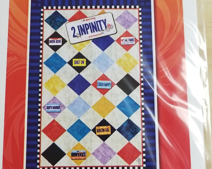 Pin Collection Quilt Panel, 2 InPinity and Beyond Fabric Panel,