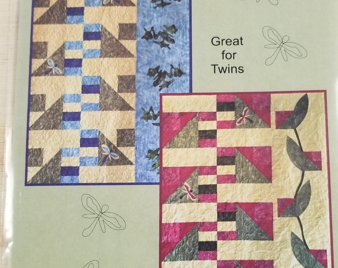 Spring Pond Quilt Pattern, Boys Quilt Pattern, Girls Quilt Pattern