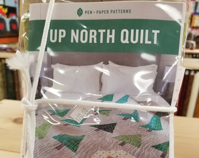 Up North Quilt Kit, Quilt Top Kit w/pattern