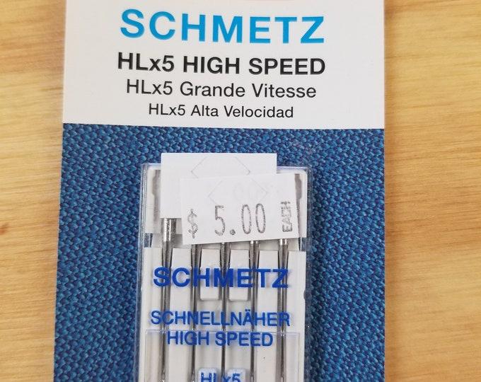 75/11 Machine Needles, Stretch, Universal, Metallic