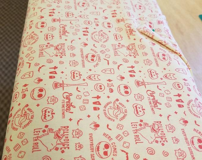 Nightmare Before Christmas Quilt Fabric,  Halloween Fabric, Disney, Tim Burton
