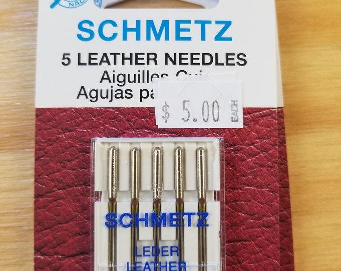 Various Machine Needles, Jeans/Denim, Leather, Singer