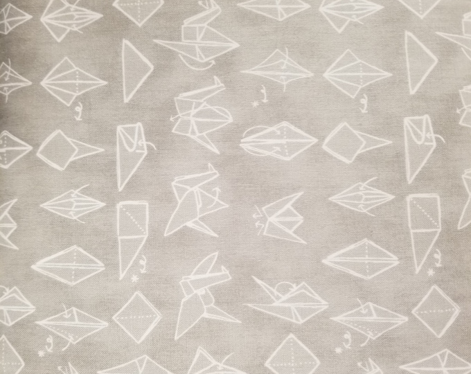 Origami Quilt Fabric, Paper Swan/ Boats/ Kites Fabric