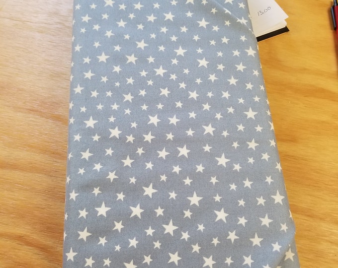 Christmas Glow In The Dark Stars Quilt Fabric,  Wintertime Fabric