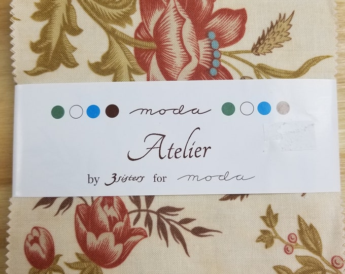 Atelier by 3 Sisters Charm Pack, Fabric