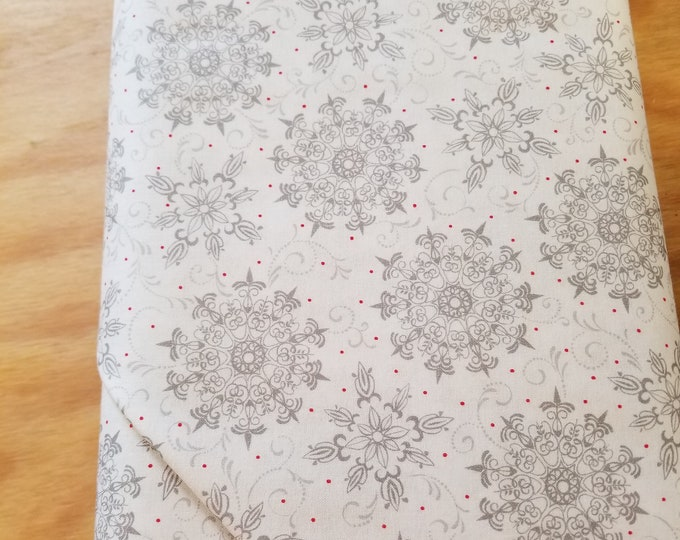Snowflake Quilt Fabric,  Wintertime Fabric