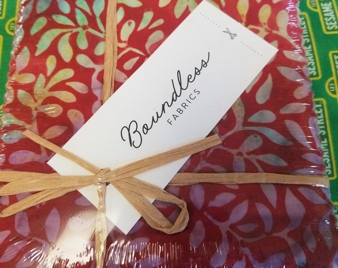 Batik Boundless Charm Pack,   Cut out for Happiness Fabric Charm Pack