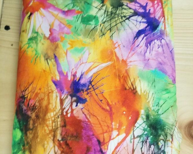 Color Splash Quilt Fabric, Colorful Fabric