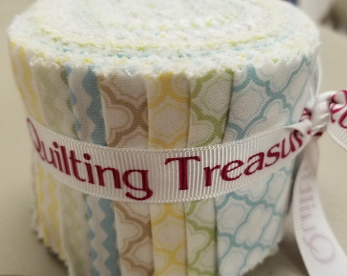 "Quilting Treasures Sorbet ""Cotton Candy"" Strips, Fabric Strips"