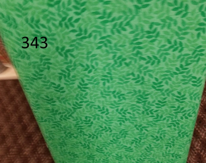 Blenders Style Fabric, Cut to order fabric, Green, Blue, Navy  342-351