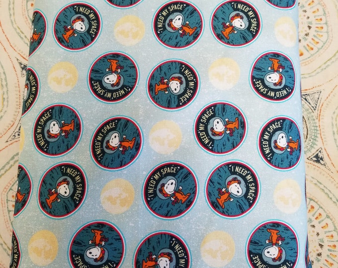 Snoopy in Space Quilt Fabric, Peanuts Fabric