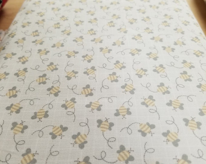Honey Bee Quilt Fabric, Bumble Bee Fabric