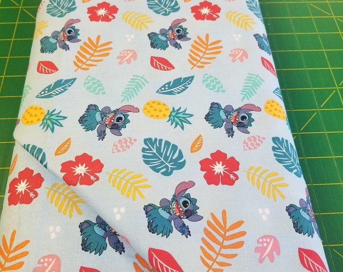 Lilo & Stitch Quilt Fabric, Disney Fabric