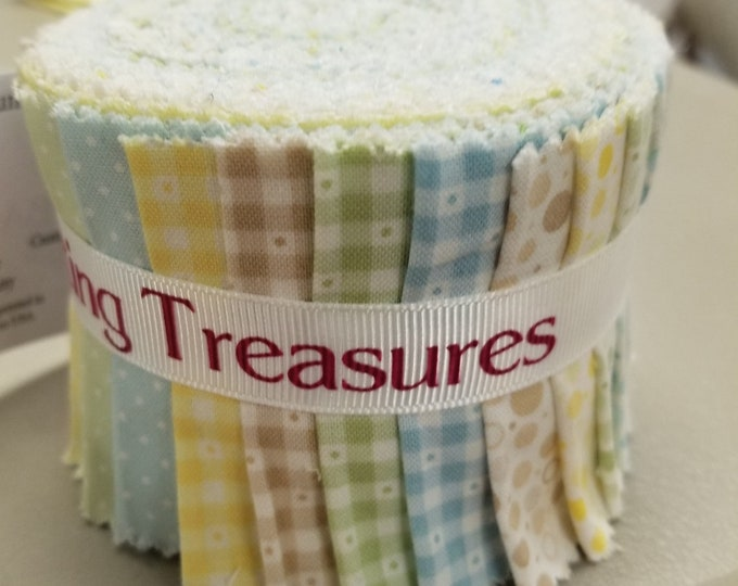 "Quilting Treasures Sorbets ""Key Lime"" Strips, Fabric Strips"