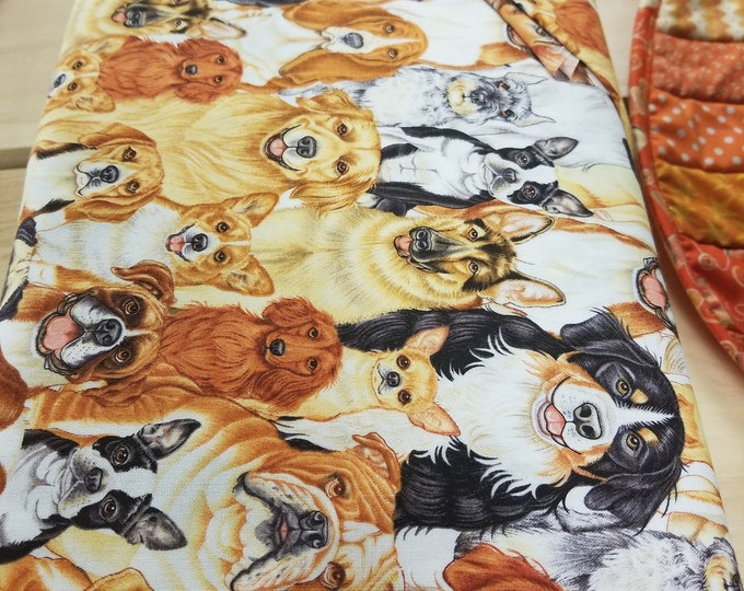 Dog Quilt Fabric, Puppy Fabric