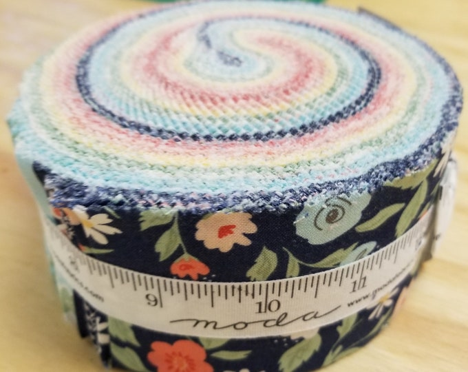 Garden Variety Jelly Roll, Floral Print Jelly Roll