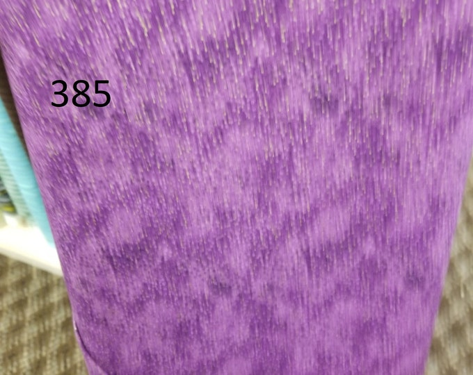 Blenders Style Fabric, Cut to order fabric, Purple, Pink 384-396