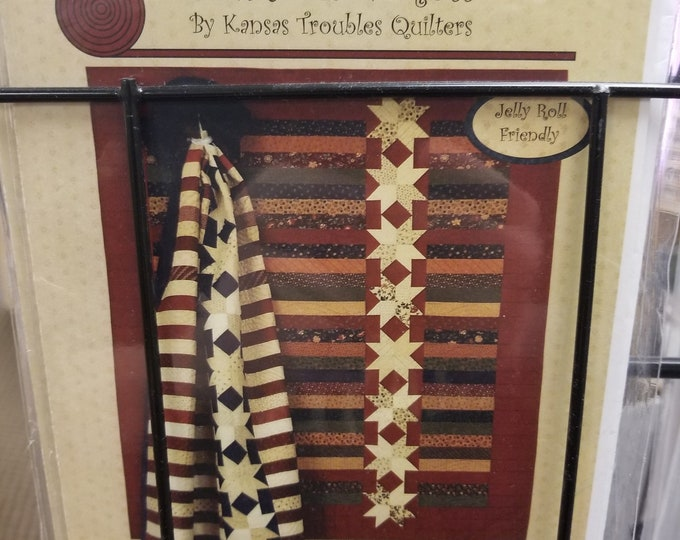 Assorted Quilt Patterns, Kansas Troubles, country threads, Four Paws