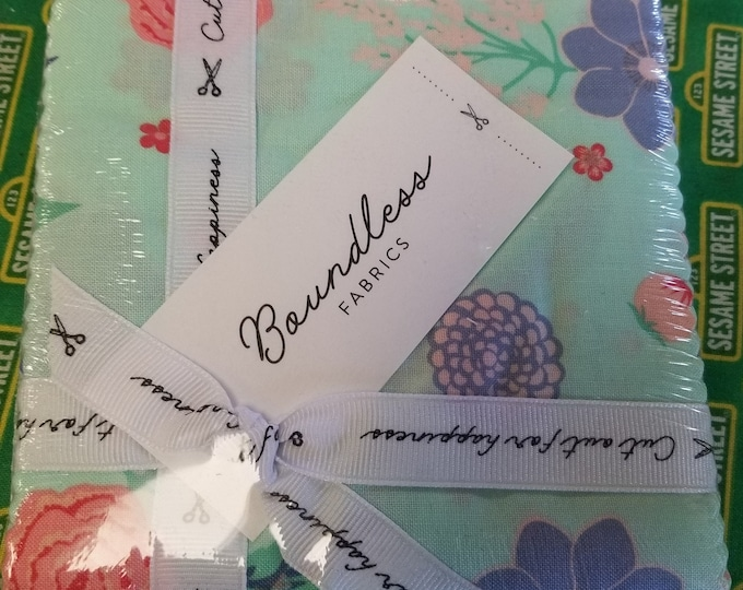 Floral Boundless Charm Pack,   Cut out for Happiness Fabric Charm Pack