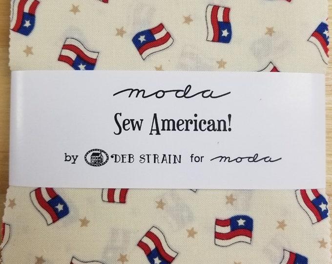 Sew American Charm Squares, Deb Strain, Moda