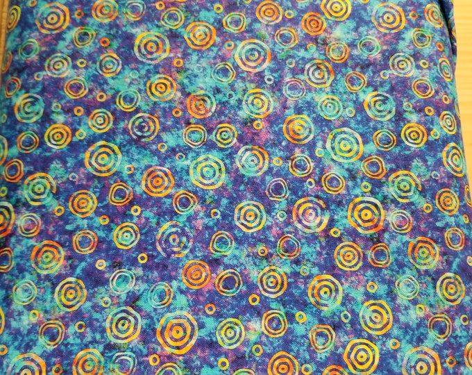 Blue Swirl Rhythm Quilt Fabric, Blue Rhythm Swirl Fabric