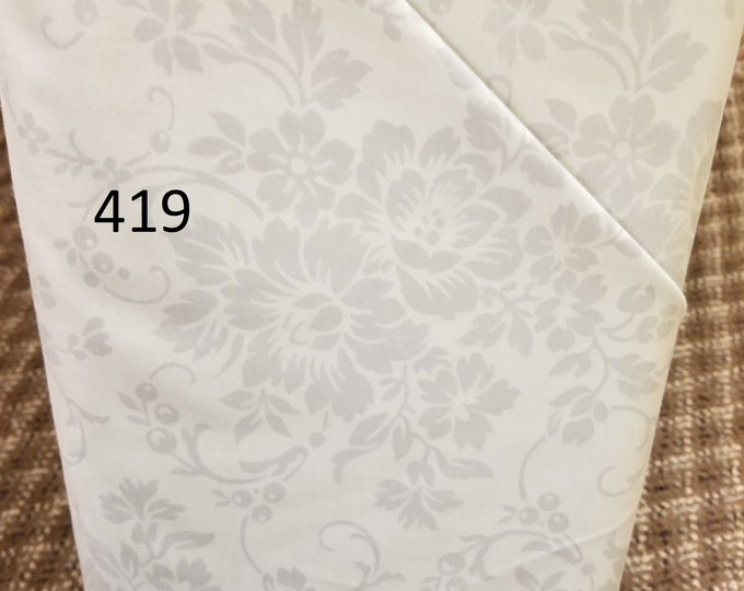 Blenders Style Fabric, Cut to order fabric, Gray, Black, White on White 418-437