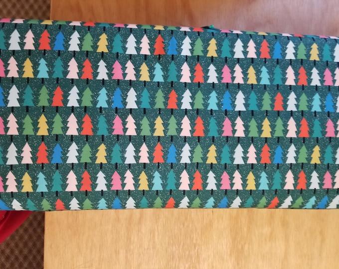 Christma Tree Quilt Fabric,  Wintertime Fabric