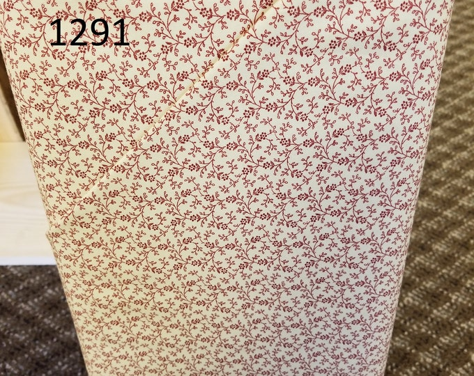 Floral Quilt Fabric, Cut to order fabric   1291-1301