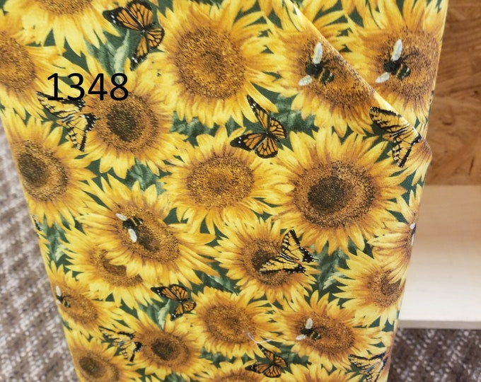 Floral Quilt Fabric, Cut to order fabric   1348-1368