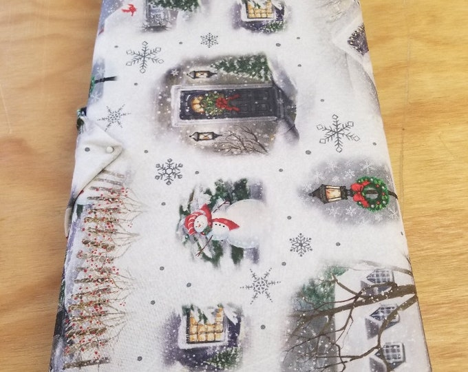Christmas Quilt Fabric, Snowmen, Wintertime Fabric