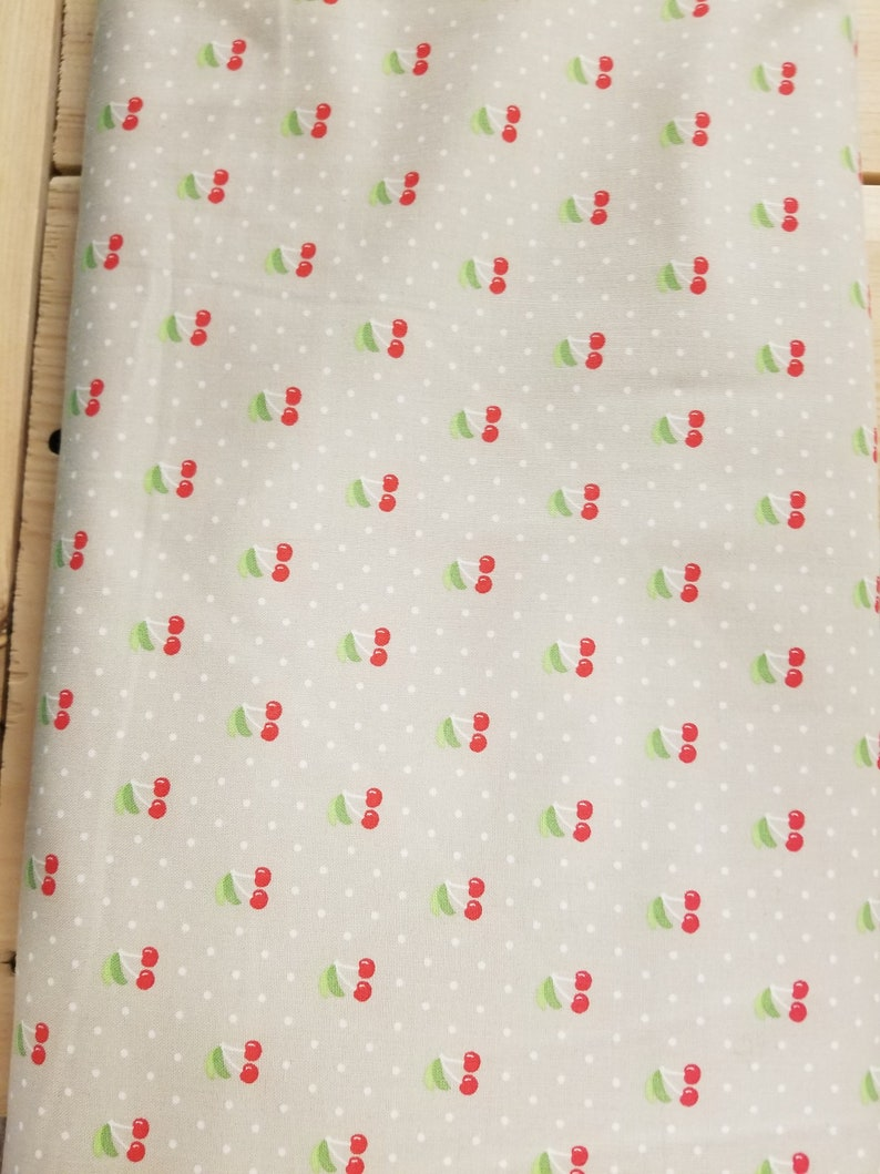 Fruit Fabric Cherry Quilt Fabric
