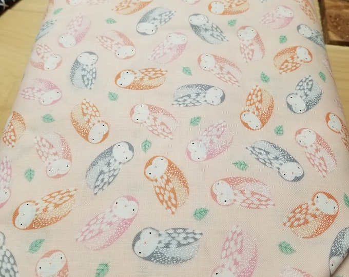 Baby Owl Quilt Fabric, Cute Owls Fabric