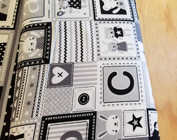 Baby Bear Quilt Fabric, Cute Baby Bear Fabric