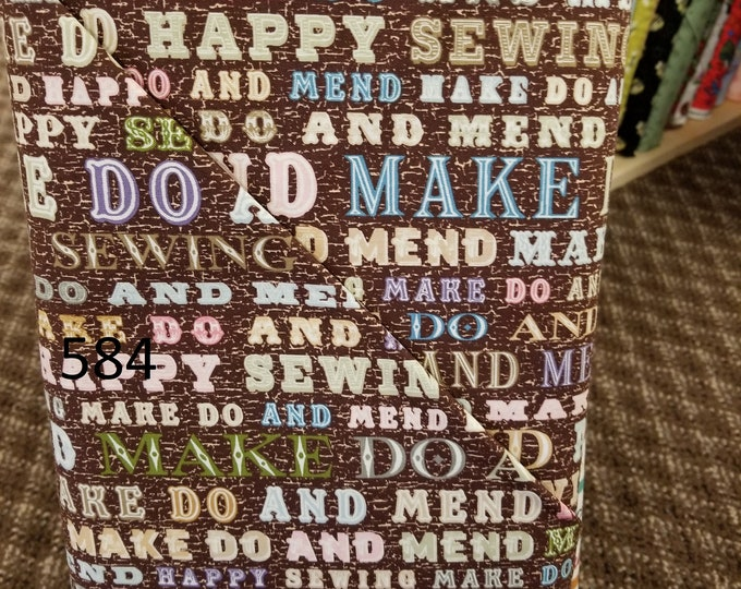 Quilting/ Sewing Themed Quilt Fabric, Cut to order fabric, Sewing Machines, Knitting 582-592