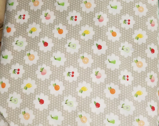 Fruit Quilt Fabric, Cute Fruit Fabric