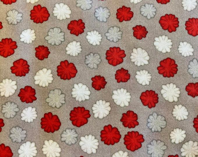 Monkey Biz Quilt Fabric, Pom Pom Fabric By the Yard