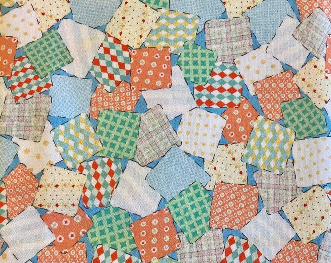 Fabric Scraps Quilt Fabric, Hankies Fabric By The Yard