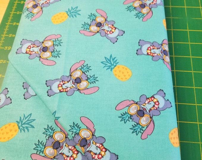Lilo & Stitch Quilt Fabric, Disney Fabric
