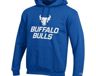 8dd4d38448d UB Bulls, University at Buffalo Hoodie NCAA , New Logo