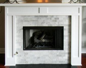 Fireplace Surround Etsy