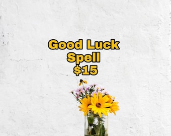 Good luck spell | Etsy