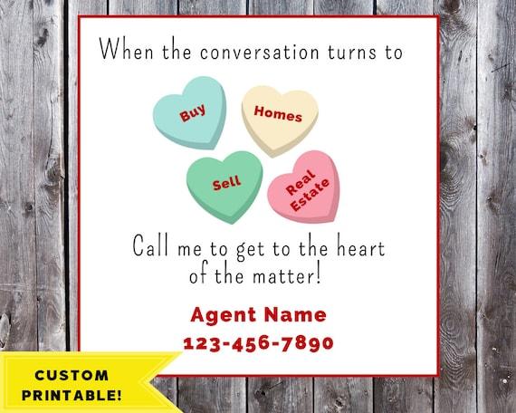 image relating to Printable Pop by Tags titled Legitimate Estate Valentines Present Tags Printable Sweet Reward Tag Genuine Estate Pop By means of Present Tags Real estate agent Pop-by way of Tag Custom made Valentine Tag