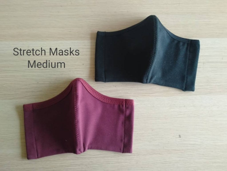MEDIUM size reusable face covering all day comfort face image 0