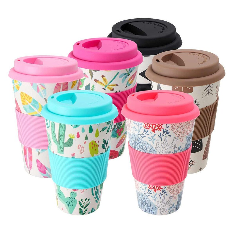 Reusable Takeaway Coffee Cup Reusable Coffee Cup Travel Coffee Mugs Organic Eco Friendly Coffee Cup Earth Friendly Coffee Cup