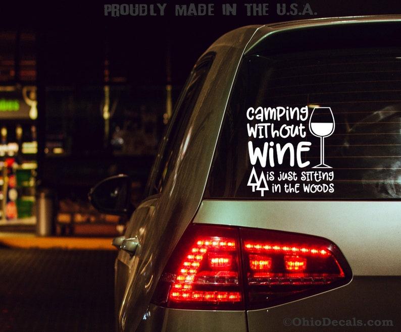 Ohio State Buckeyes Vinyl Sticker 5x5 Decal Bumper Car Truck Laptop
