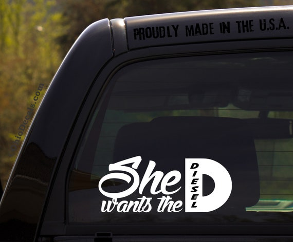 Duramax decal Dirtymax decal she wants the D decal